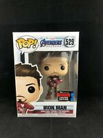 Marvel Avengers Endgame Iron Man NYCC exclusive  Vinyl Funko Pop