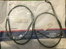 "Harley Throttle & Idel Cable 1981-89 80"" Evo FL/FX FLH FXST FLST 56323-81 (94)"