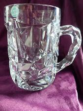 "Tiffany&co Bierkrug  Bleikristall Bierglas "" NEU mit Signum u.Etikette"