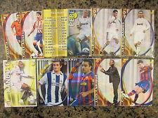 LOT of 50- LA LIGA SOCCER CARDS 2011, REAL MADRID,BARCELONA,etc,READ*
