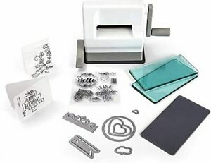 Sidekick Manual Die Cutting and Embossing Machine 661770 with Starter Kit 2.5