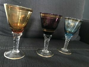 3 Römerweingläser