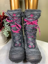 Girls youth US 2 EU33 Columbia Bugaboot Youth Winter Boots Waterproof BY1333-051