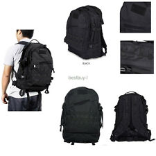 40L 3D Outdoor Molle Military Tactical Backpack Rucksack Trekking Bag Camping