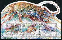 Pitcairn 2013 Hummer Lobster Meerestiere Krustentiere Block MNH