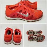 Nike Flex Supreme Orange Athletic Running Tennis Shoes Sneaker Women Size 7.5