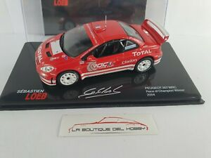 PEUGEOT 307 WRC RACE OF CHAMPION WINNER S. LOEB 2004 ALTAYA ESCALA 1:43