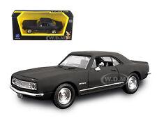 1967 CHEVROLET CAMARO Z28 MATT BLACK 1/43 CAR MODEL BY ROAD SIGNATURE 94216