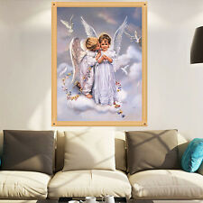 DIY 5D Diamond Painting Angel's Kiss Embroidery Crafts Home Cross Stitch Decor