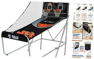 """Folding Indoor Arcade Basketball Game, 2 Hoops, Classic Version (1.5"""" Tubes)"""