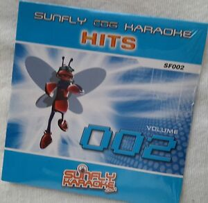 Karaoke cdg new disc genuine original Sunfly Hits SF002,see Descript15 trk/arts