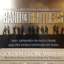 Band of Brothers Hbo Tv Series Dvd 2002 6-Disc Set Steelbook Box Set