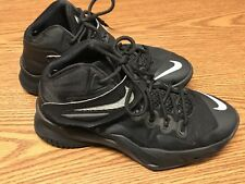Nike 653645 004 Lebron Soldier VIII 8 Black Gray Youth Basketball Shoes Sz 6.5Y