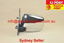 NEW DOOR MIRROR FOR FORD COURIER 1999-2006 (LEFT, CHROME, MANUAL)