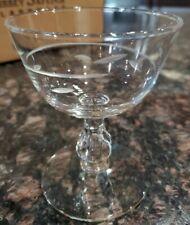 Vintage Libbey Hostess Glassware clear glass Set of 6 61/2oz Sherbet Glasses New