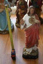 Statue d'église vendue à l'unité - Jésus adulte  - 43 cm plâtre plein