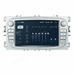 Android 10 Car Stereo DAB+ Sat Nav BT Radio Headunit For Ford Focus Mondeo Galax
