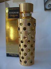 SHALIMAR GUERLAIN  EAU DE TOILETTE 93 ml spray COPLETE RARE ORIGINAL