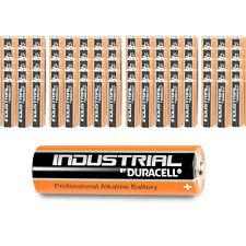 100 x DURACELL AA Mignon Alkaline LR06 Batterie MN1500 1,5V Industrial 100 Stück