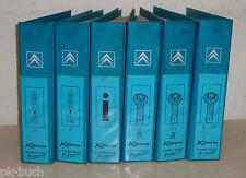 Werkstatthandbuch Konvolut Citroen Xsara / Xsara Picasso, Baujahre 1997 - 2002
