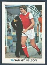 FKS 1977/78 SOCCER STARS- #014-ARSENAL & NORTHERN IRELAND-SAMMY NELSON