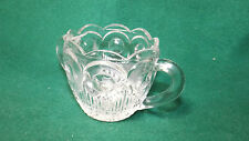 Vintage Two Handled Glass Sugar Container