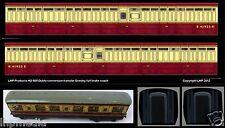 HORNBY DUBLO D11 NEW BR GRESLEY FULL BRAKE CONVERSION TRANSFER SET LHP HD508