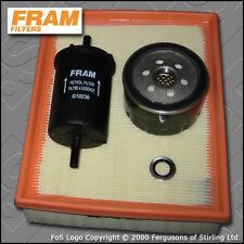 KIT di servizio RENAULT LAGUNA II 2.0 16V Turbo FRAM Olio Aria Carburante FILTRI 02-07