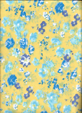"""45"""" 100% cotton flannel floral print"""