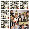 Supplies Photo Booth Anniversary Decor 30/40/50/60th Birthday Party Paper Props