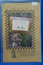 Chessie & Me WHEN THIS YOU SEE Cross Stitch Chart Cats Tree Remember Me NEW