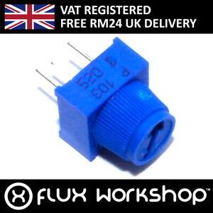 5pcs 10k Trim Potentiometer Pot PCB Knob Variable Resistor Arduino Flux Workshop