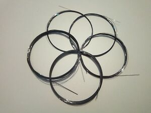 5m Cahira Nitinol Titanium Trace Wire Fishing 6lb 12lb 24lb 40lb