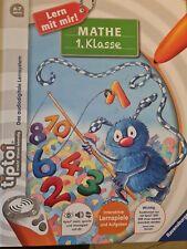 Ravensburger Tiptoi Lern mit mir - Mathe 1. Klasse Buch ohne Stift