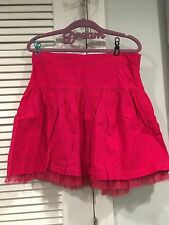 299f0cf7e NWT GAP KIDS GIRLS DOT CORDUROY SKIRT POLKA DOTS GIRLS 14 TULLE PINK