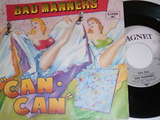 """7"""" - Bad Manners Can Can & Armchair Disco - 1981 # 4956"""