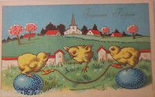 """Ostern, Küken, Seilspringen, Ostereier"" 1940 ♥ (24530)"
