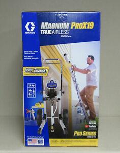 *NEW* Graco Magnum ProX19 Airless Cart Paint Sprayer 17G180
