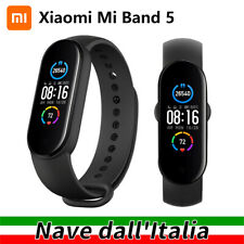 Xiaomi Mi Smart Band 5 Smartwatch Sports Fitness Tracker Orologio Bluetooth Nero