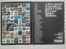 10/1977 PUB TRW SYSTEMS GROUP SPACE TECHNOLOGY SPACE SYSTEM SATELLITE NASA AD