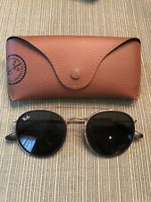 AUTHENTIC RAY BAN Round Metal Sunglasses RB3647-N 001