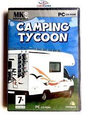 Camping Tycoon PC Nuevo Precintado Retro Videogame Videojuego Sealed New SPA