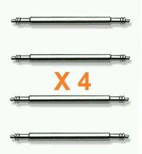 Pasador Correa Reloj de 22 mm - Acero Inoxidable - Pack de 4 Pasadores