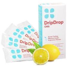 Drip Drop ORS 4 Powder Packs Lemon 850379003023