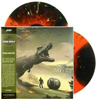 Jurassic World Fallen Kingdom [Indo-Raptor Orange Vinyl] LP Record Album Mondo