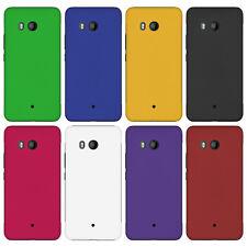 HTC U11 - Rubber Hardcase Schutzhülle Case Hülle Gummiert Etui Schutz Tasche