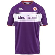 More details for official fiorentina 2021/2022 home football shirt kappa s/m/l/xl bnwt