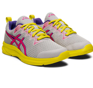Asics Gel Soulyte GS Trainers Asics Girls Womens Running Shoes Fitness Gym Size