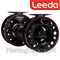 Leeda Profil Cassette Fly Fishing Reel And 2 Spare Cassette Spools