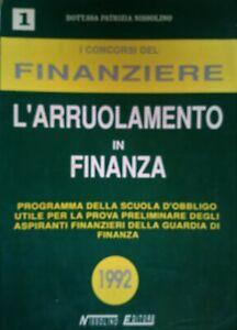 I CONCORSI DEL FINANZIERE QUIZ DI CULTURA GENERALE 1992
